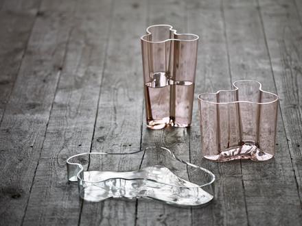 Iittala - Aalto Vase Savoy und Alvar-Aalto-Schale