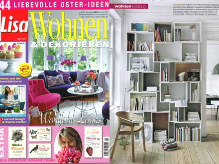 lisa wohnen dekorieren april 2016 klicktechnik. Black Bedroom Furniture Sets. Home Design Ideas