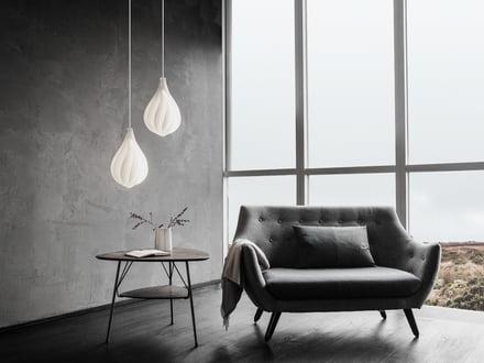 Lampenschirme von Vita in unterschiedlicher Höhe