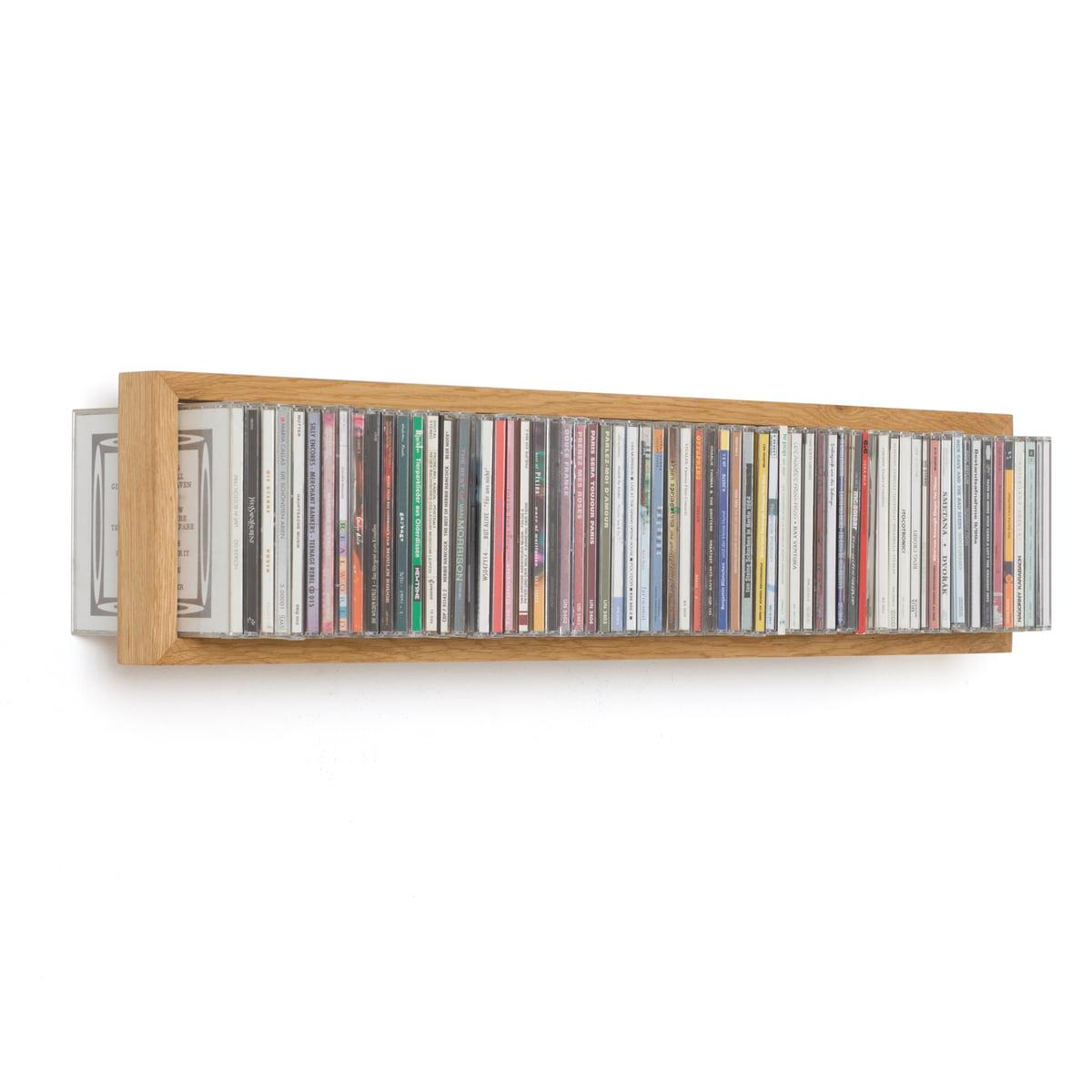 das schwebende CD Regal b bei connox.at