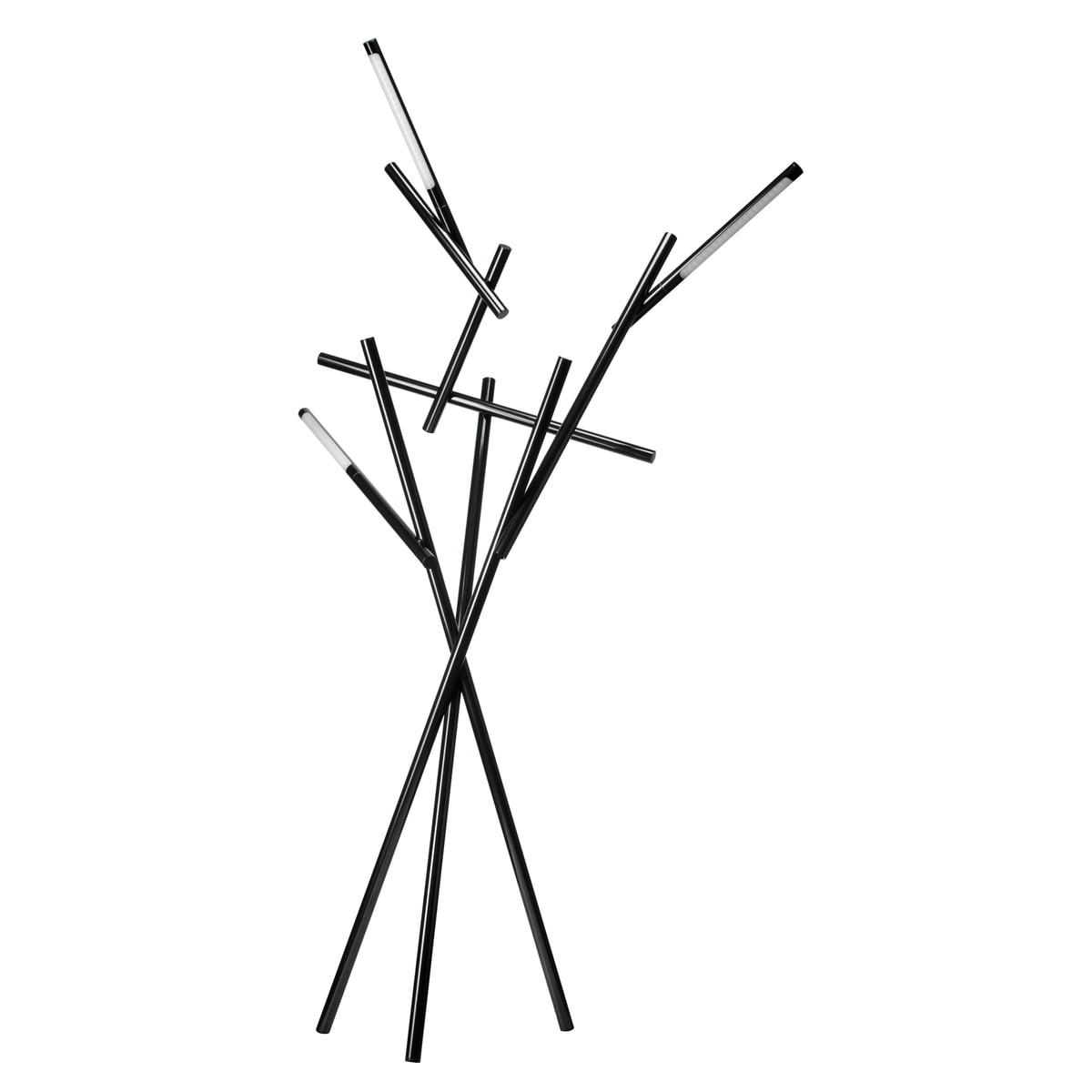 Stehleuchte tuareg von foscarini bei connox foscarini tuareg stehleuchte in schwarz parisarafo Choice Image