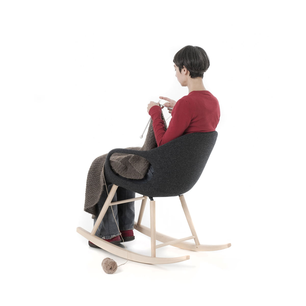 elephant schaukelstuhl von kristalia bei. Black Bedroom Furniture Sets. Home Design Ideas