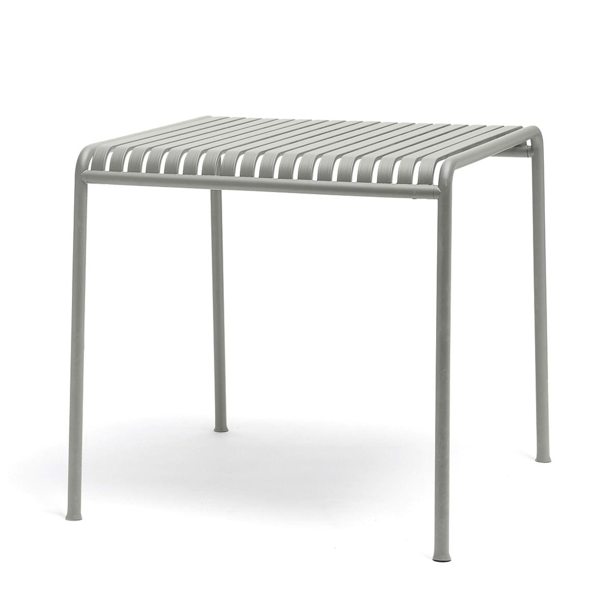 palissade tisch quadratisch von hay. Black Bedroom Furniture Sets. Home Design Ideas