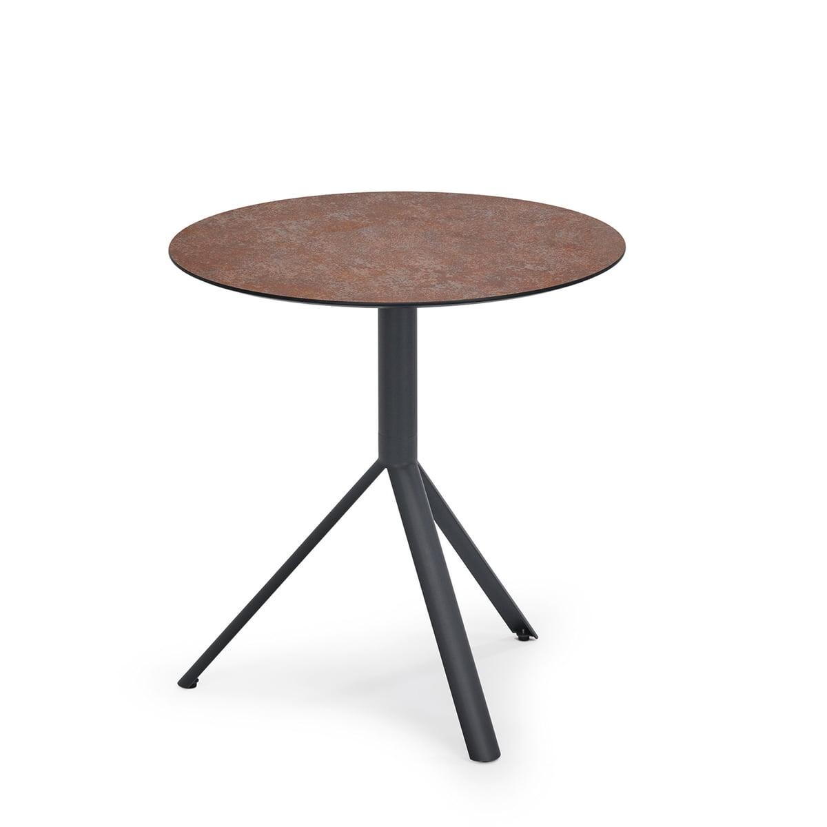 trio bistrotisch rund von weish upl. Black Bedroom Furniture Sets. Home Design Ideas