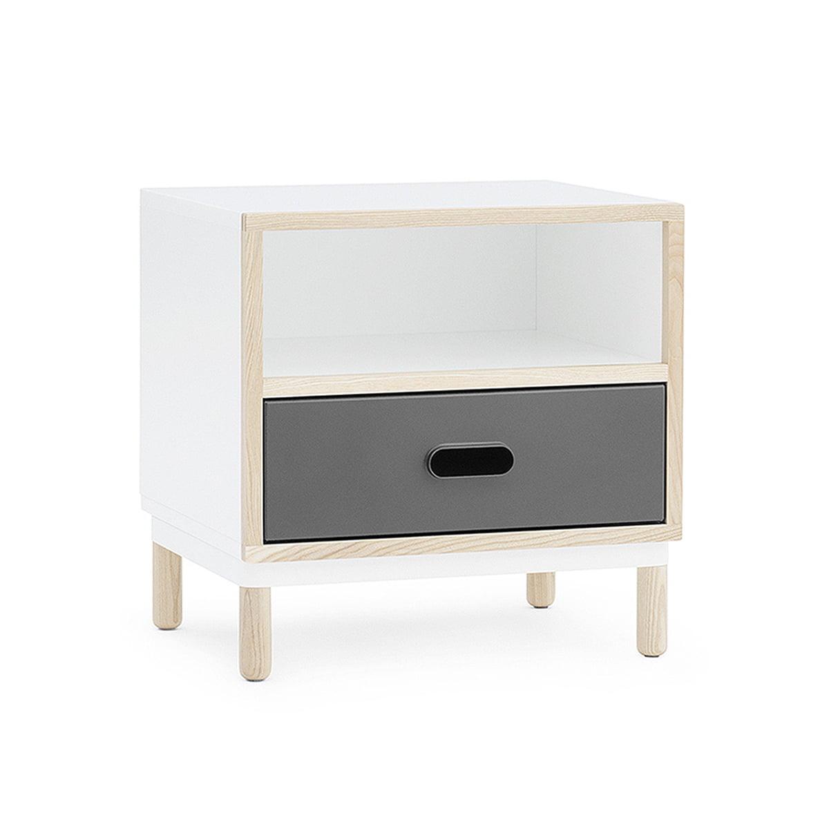 kabino nachttisch von normann copenhagen. Black Bedroom Furniture Sets. Home Design Ideas