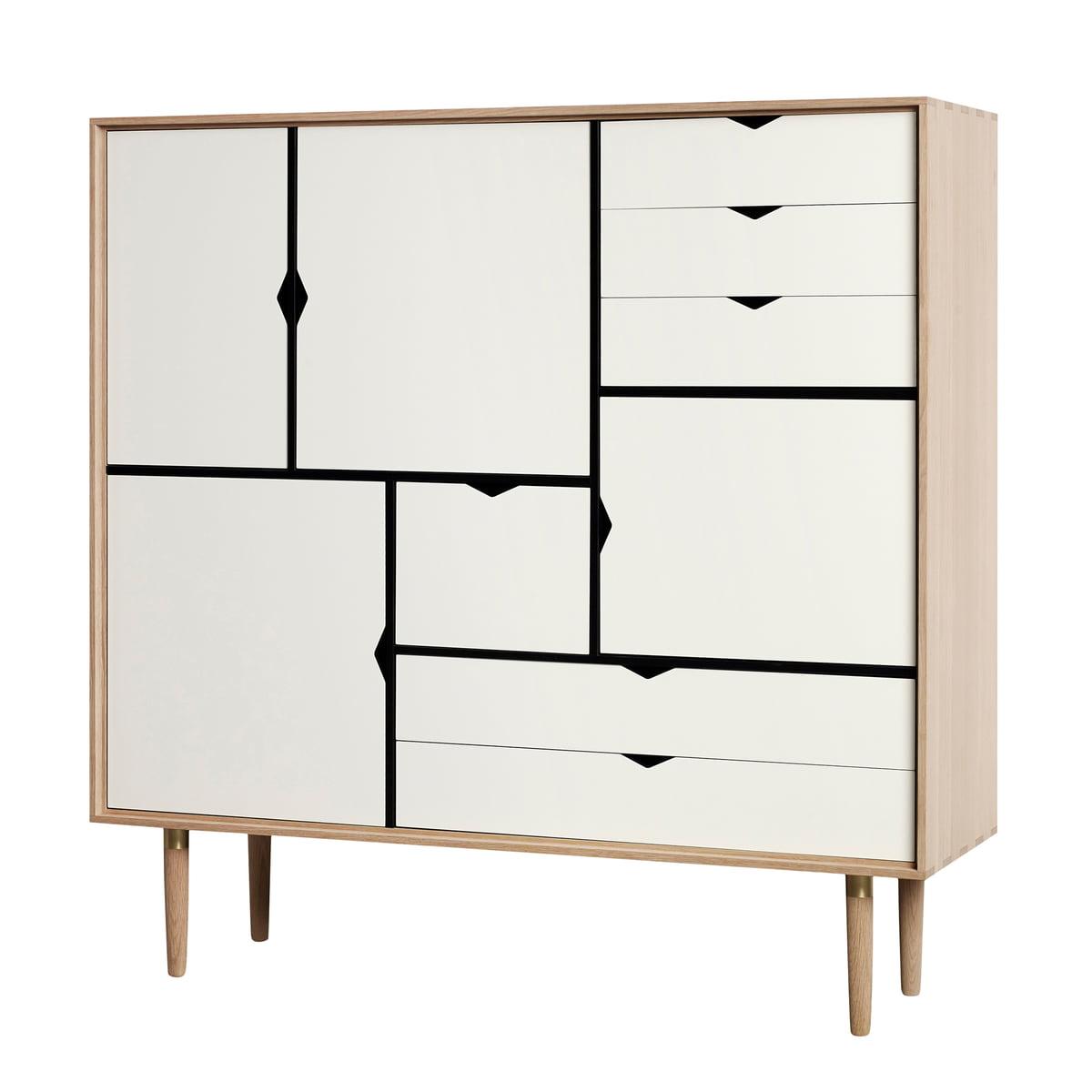 s3 kommode einfarbig von andersen furniture. Black Bedroom Furniture Sets. Home Design Ideas