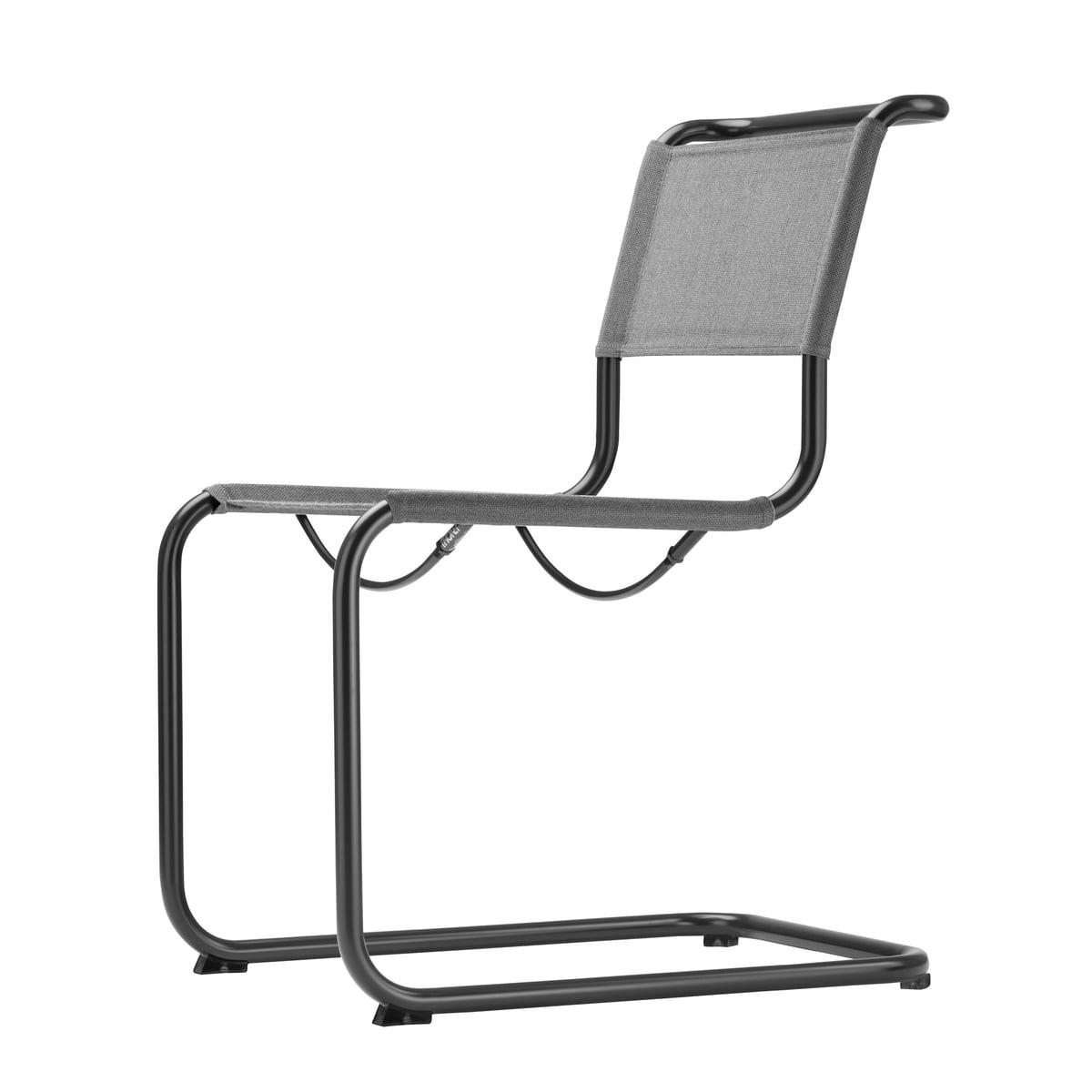 Gartenstuhl s 33 von thonet for Thonet stuhl schwarz