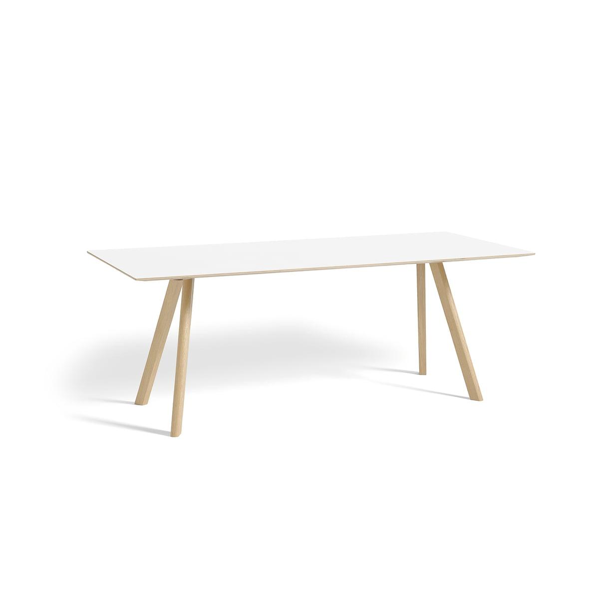 Tischplatte weiß  Copenhague CPH30 Esstisch von Hay | Connox.at