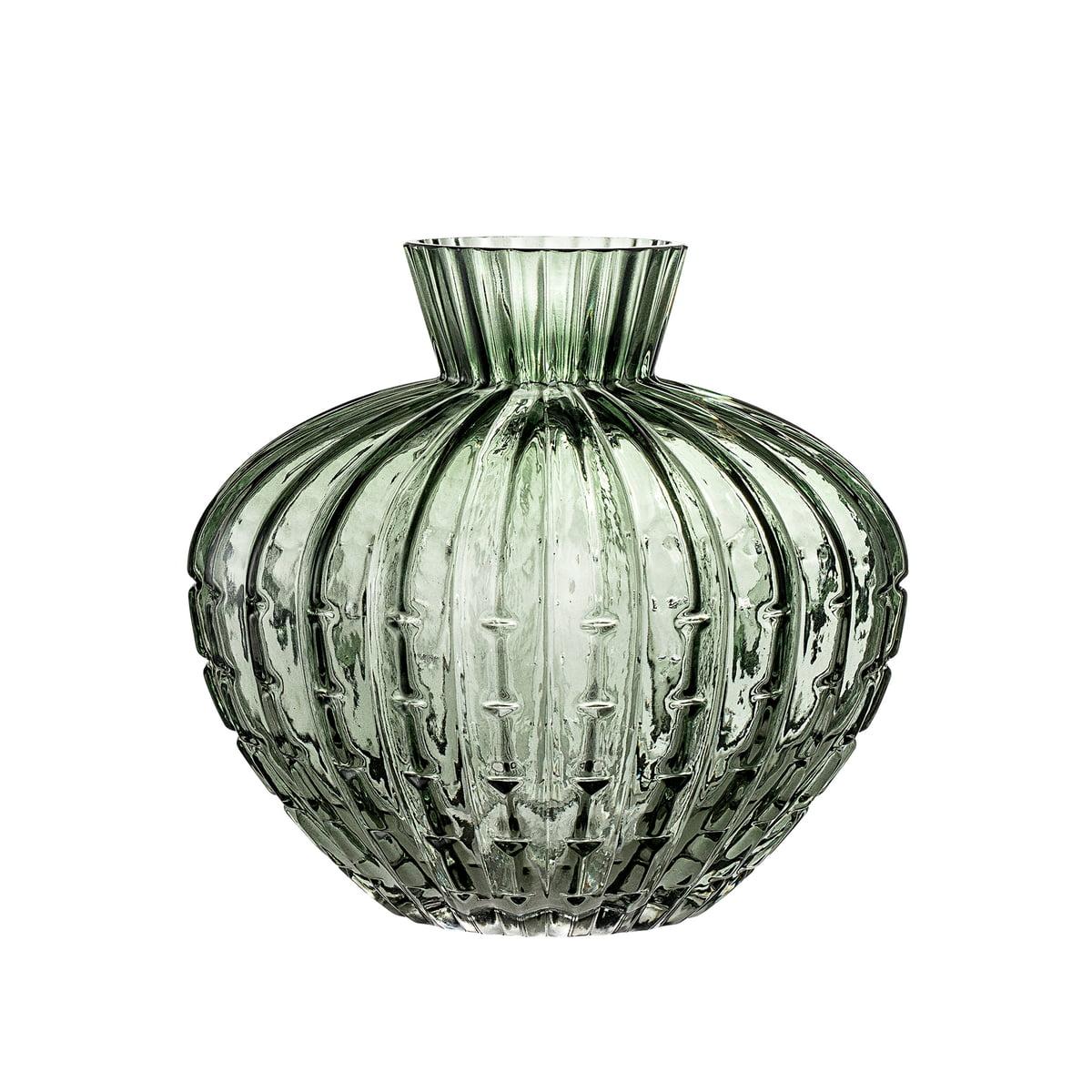 Glas Vase von Bloomingville   Connox