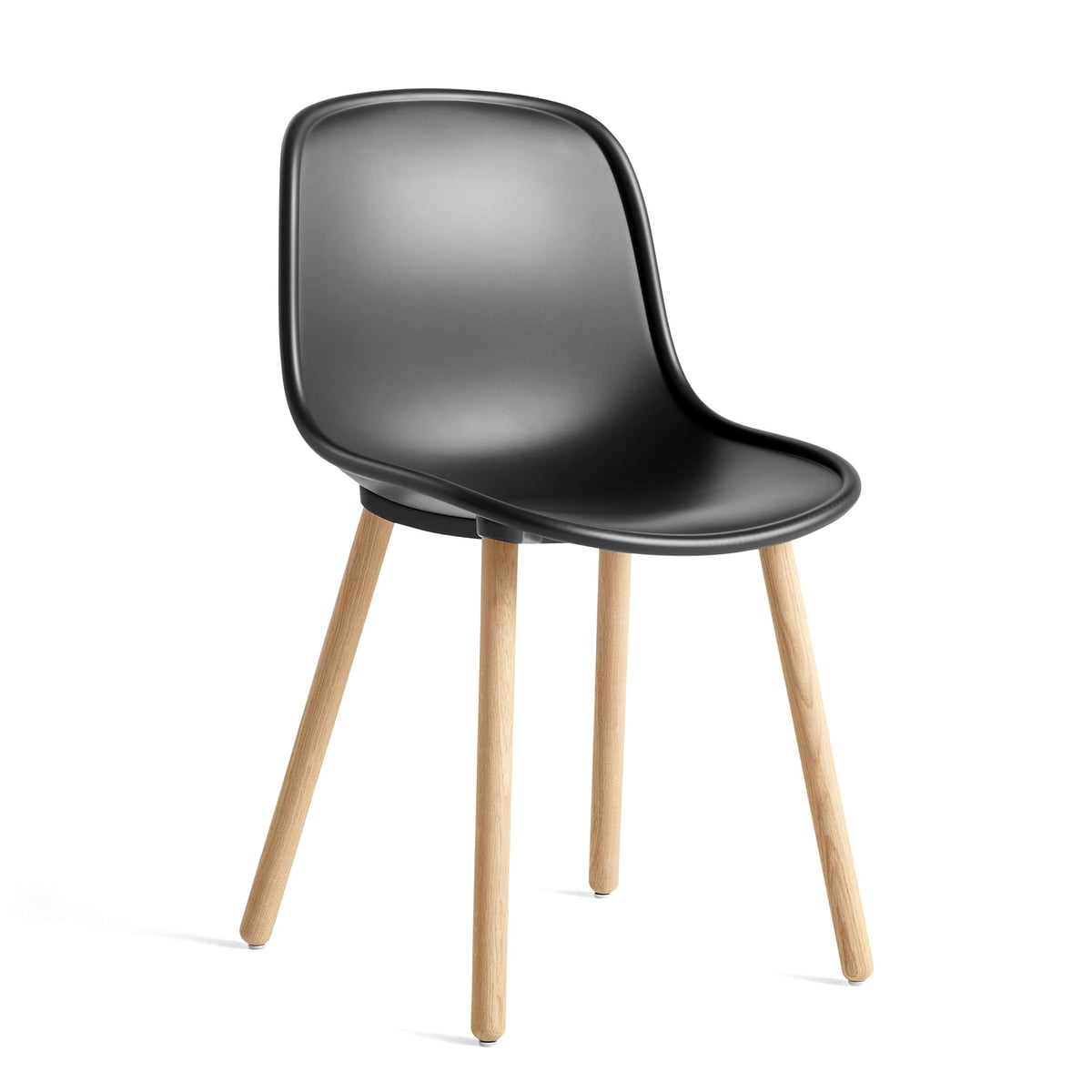 Hay Neu 12 Stuhl, Eiche matt lackiert soft black