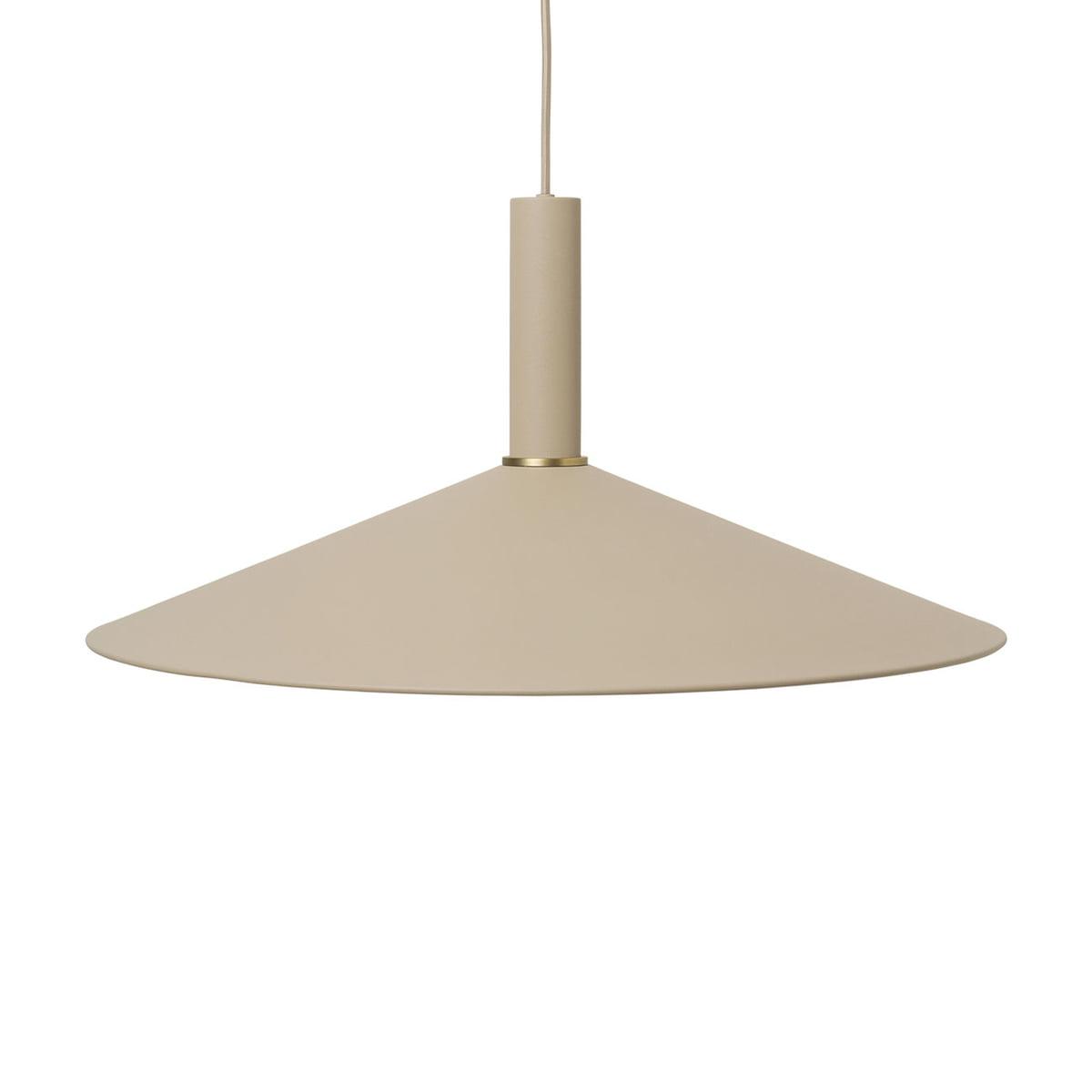 ferm Living Angle Shade Lampenschirm, schwarz