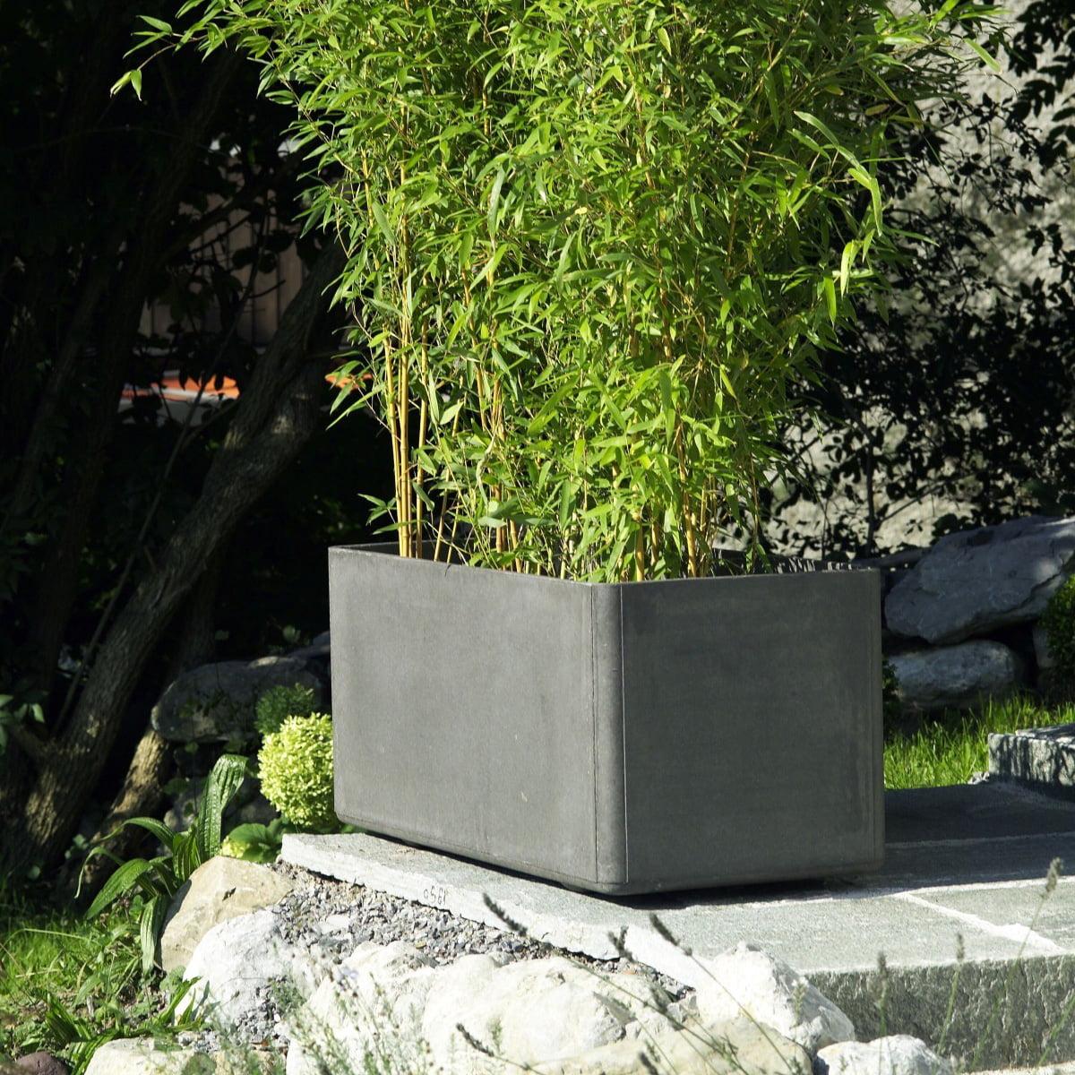 delta pflanzentopf rechteckig von eternit. Black Bedroom Furniture Sets. Home Design Ideas