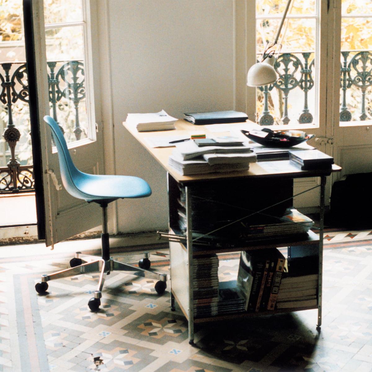 Bürostuhl designklassiker eames  Eames Plastic Side Chair PSCC von Vitra