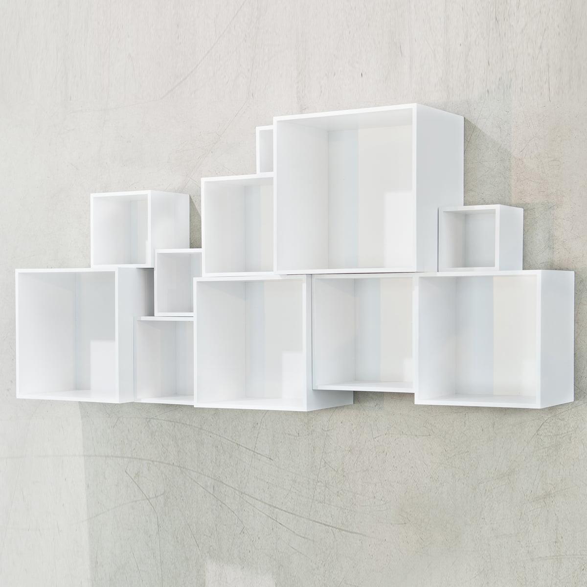 Bücherregal weiß design  OK Design Babushka Boxes Bücherregal