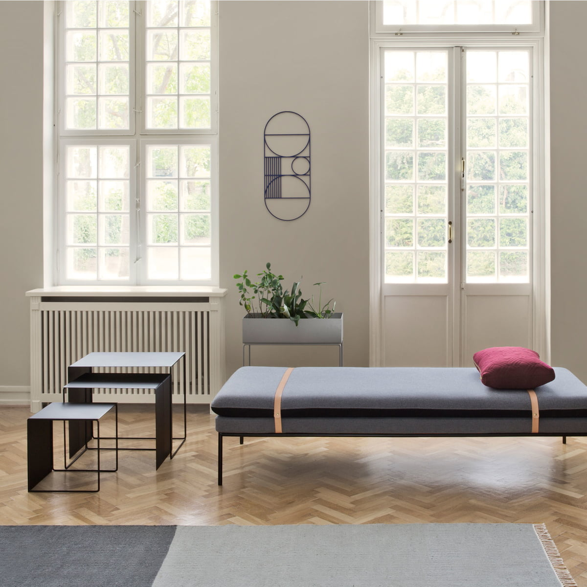 kelim teppich section von ferm living bei. Black Bedroom Furniture Sets. Home Design Ideas