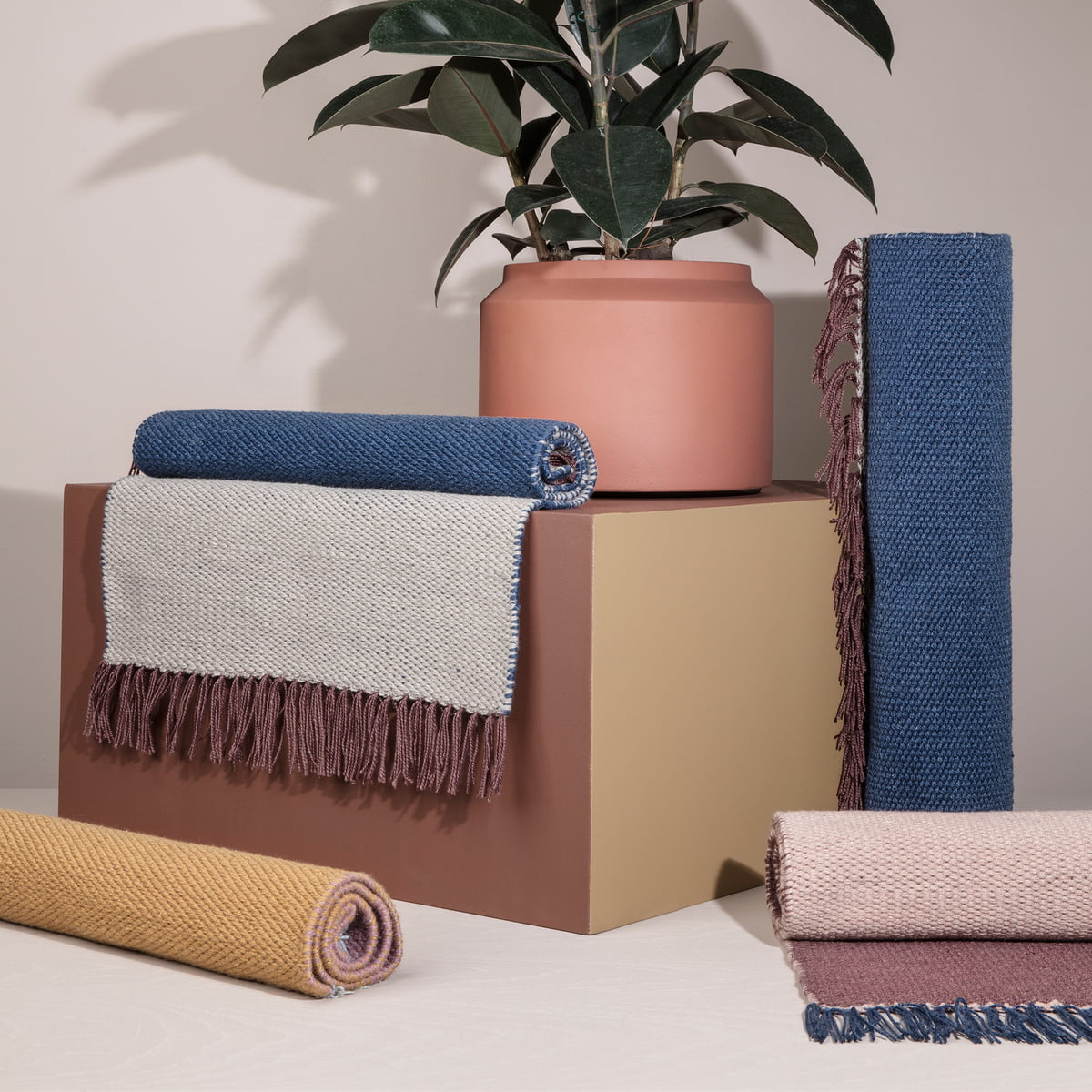 nomad teppich small ferm living. Black Bedroom Furniture Sets. Home Design Ideas