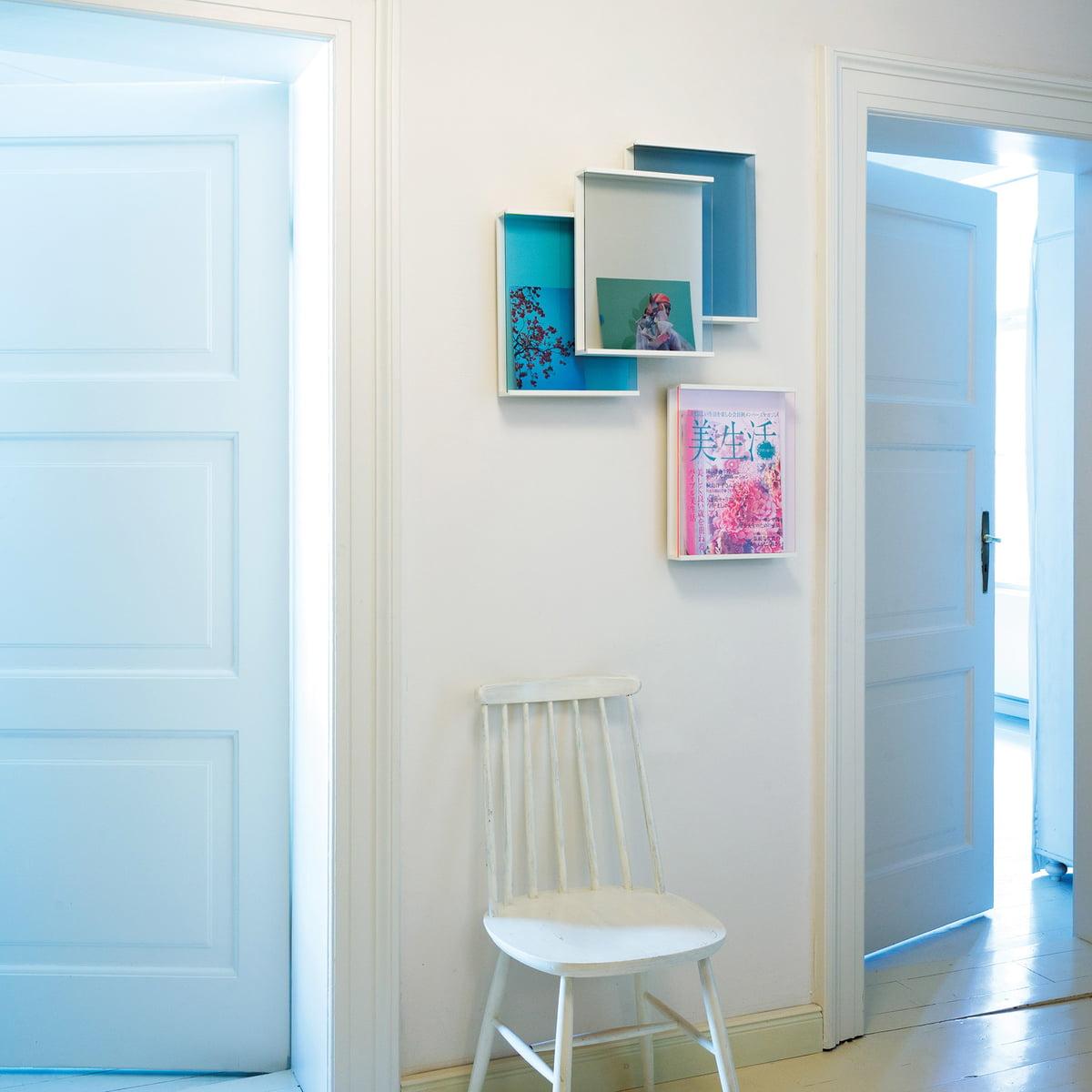 zeitschriftenregal covershow von sch nbuch. Black Bedroom Furniture Sets. Home Design Ideas
