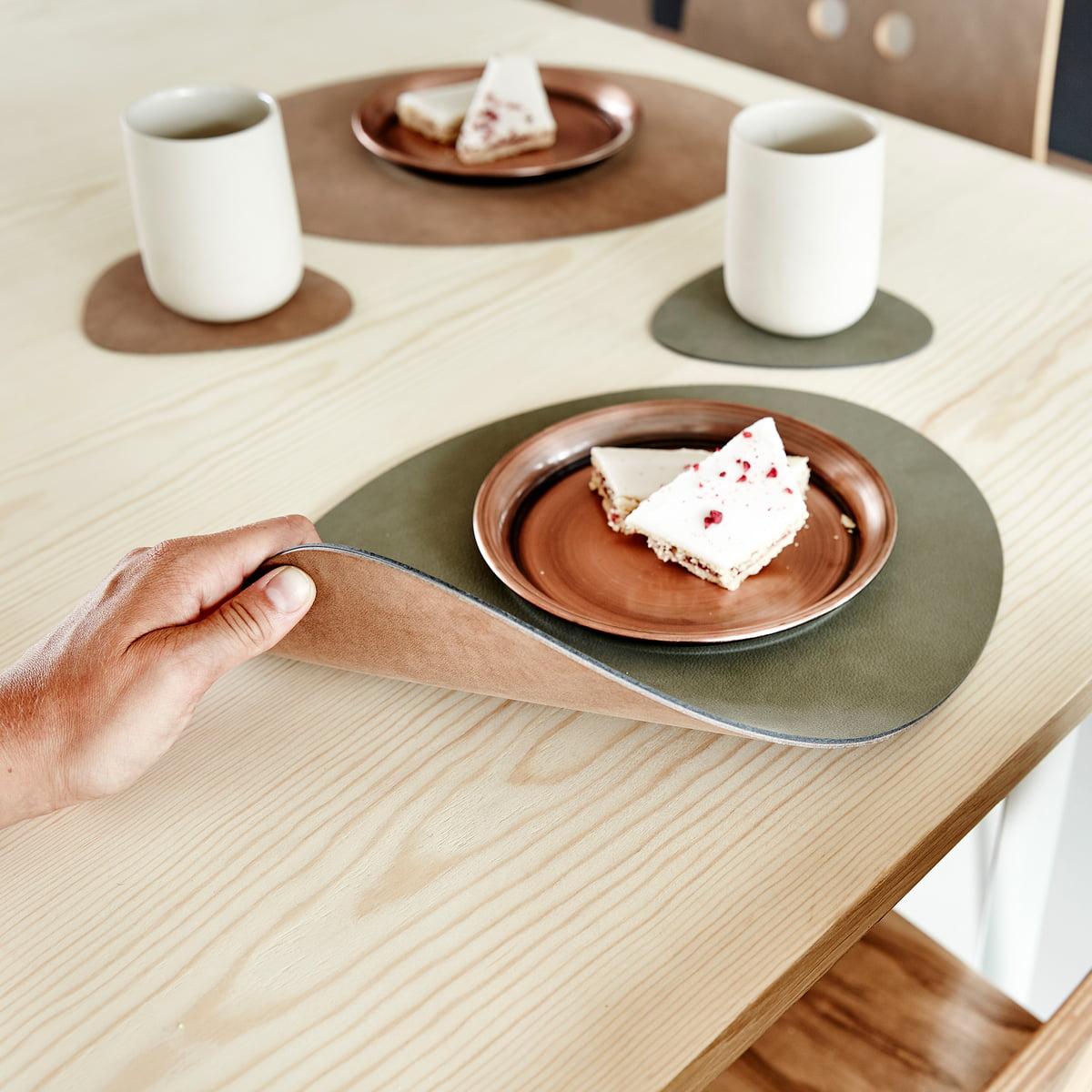 double tischset l oval von linddna. Black Bedroom Furniture Sets. Home Design Ideas