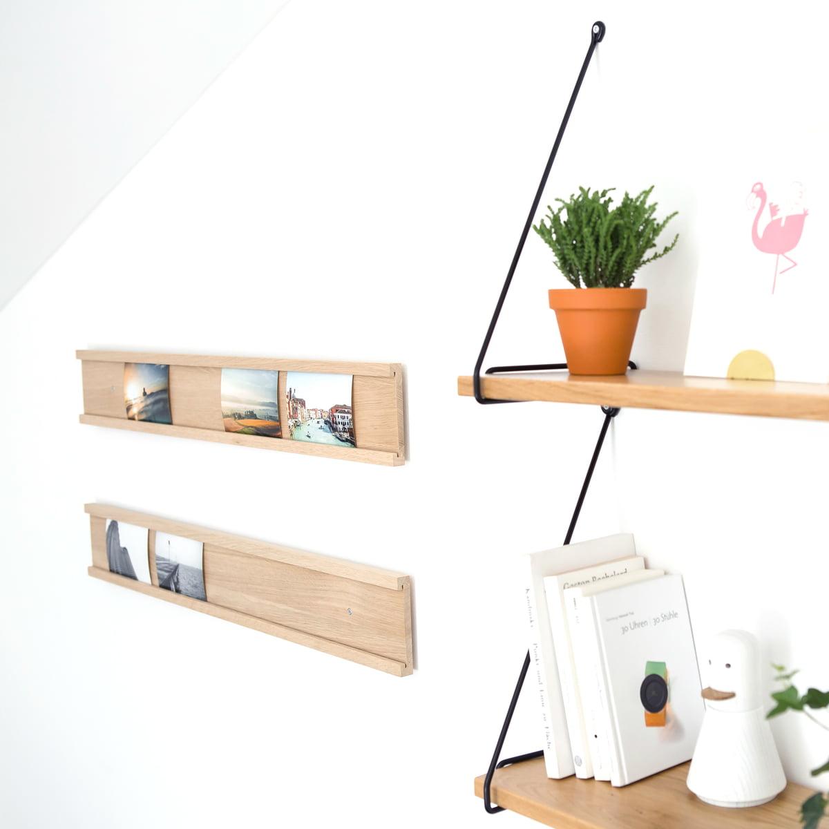 fotoleiste holz daily gallery connox shop. Black Bedroom Furniture Sets. Home Design Ideas