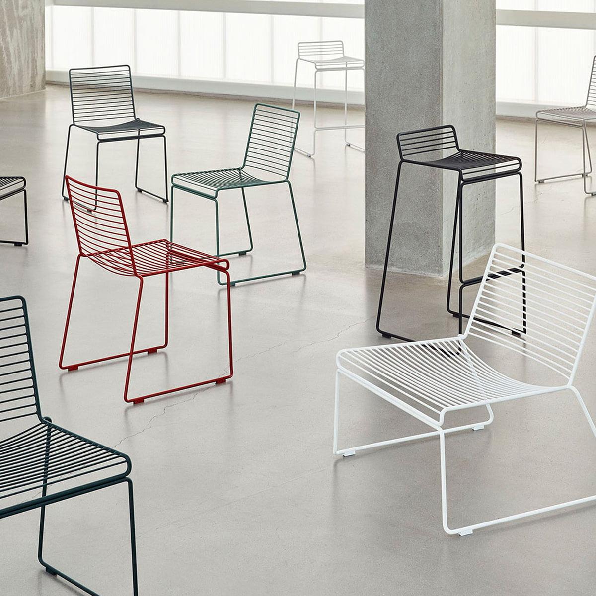 hee lounge chair von hay. Black Bedroom Furniture Sets. Home Design Ideas