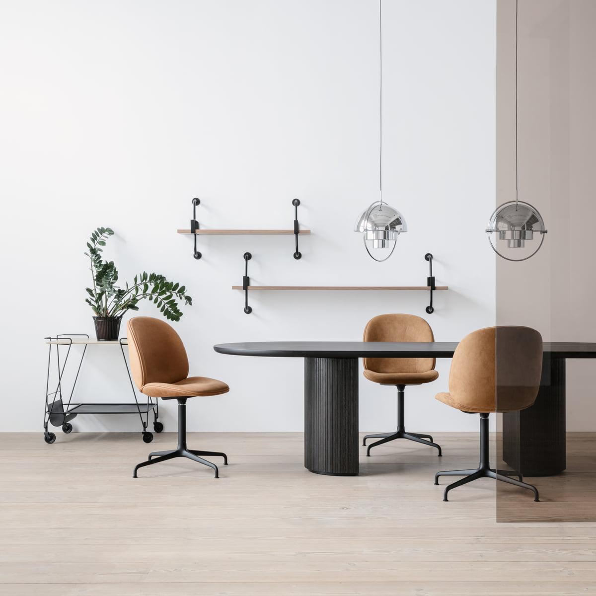 multi lite pendelleuchte von gubi. Black Bedroom Furniture Sets. Home Design Ideas