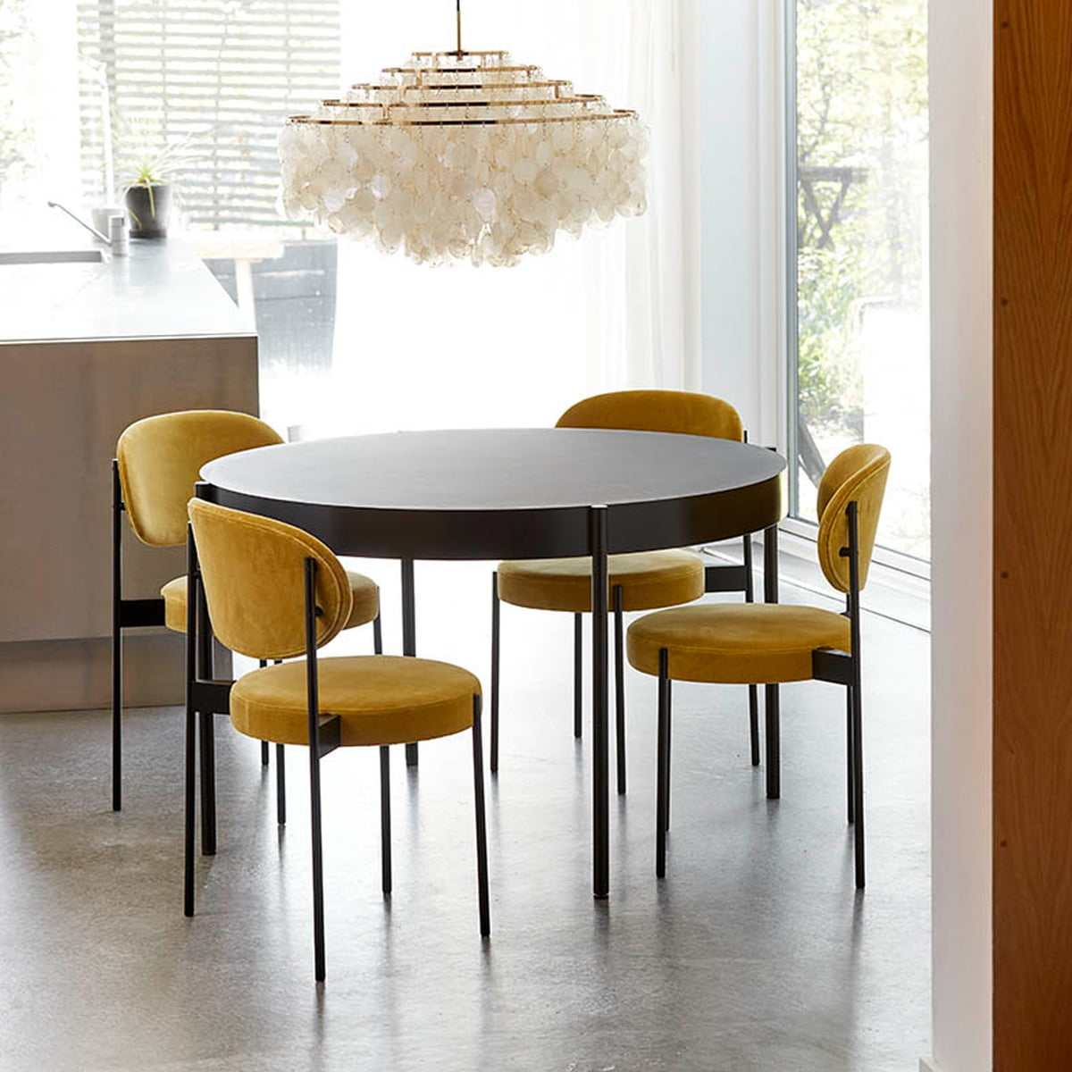 tisch 430 120 cm verpan. Black Bedroom Furniture Sets. Home Design Ideas