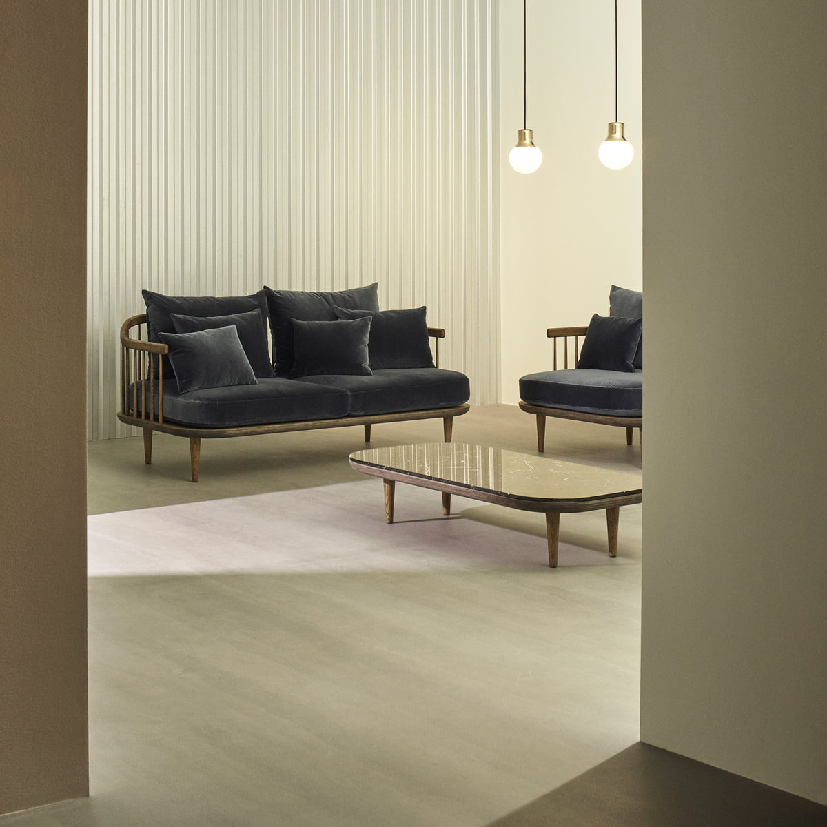 fly sofa von tradition. Black Bedroom Furniture Sets. Home Design Ideas