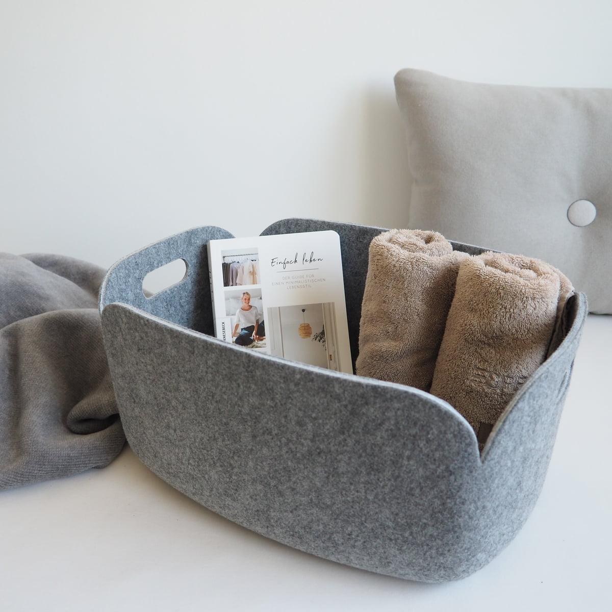 restore aufbewahrungskorb von muuto. Black Bedroom Furniture Sets. Home Design Ideas