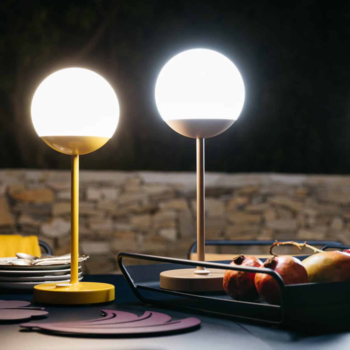 aufladbare akku lampen