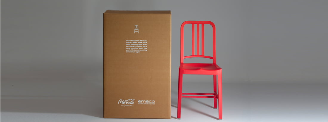 Emeco ist ein US-amerikanischer Hersteller für Möbel. Besonders bekannt sind die klassisch designten Stühle wie der 111 Navy Coca-Cola Stuhl, ein Sondermodell vom Navy Chair.