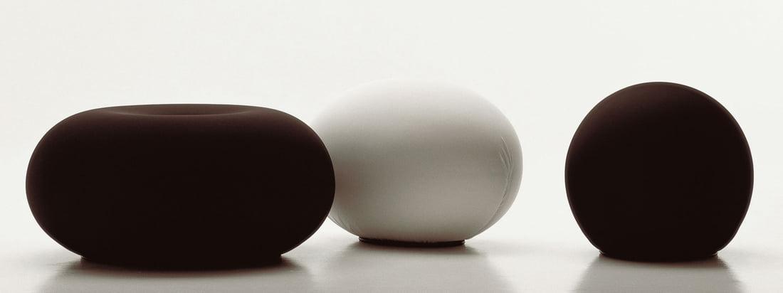 Baleri Italia ist ein Hersteller für Möbel. Besonders bekannt ist das Sitzei Tato, ein Ei-förmiger Hocker. Diesen gibt es auch in Form einer Kugel: die Sitzkugel Tatino.