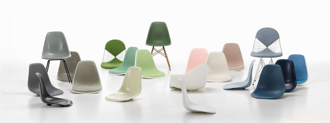 Vitra - Eames Plastic Chairs Kollektion - Banner