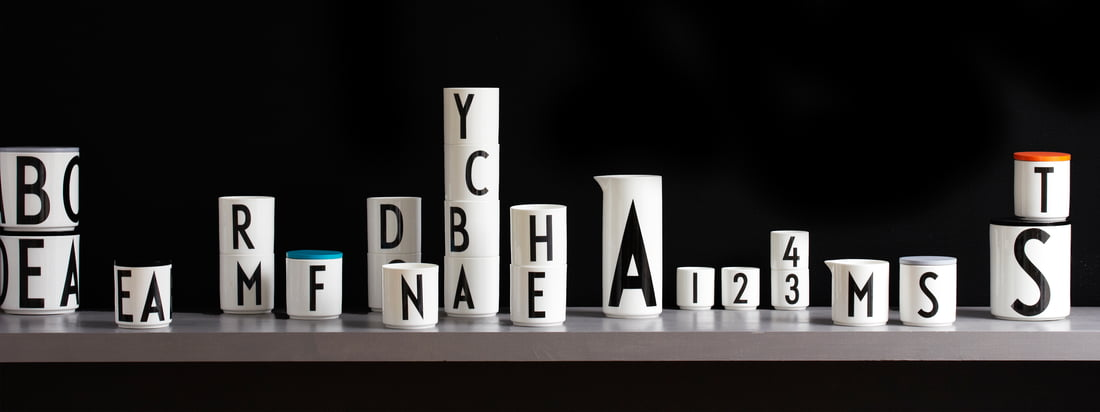 Design Letters - Arne Jacobsen Vintage ABC Kollektion - Header
