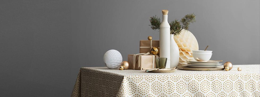 Flashsale: Weihnachtstraum in Gold und Weiß