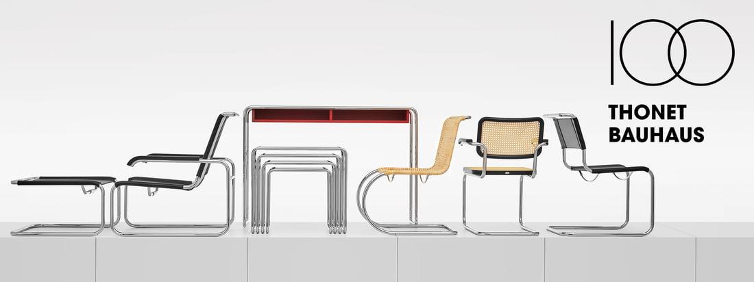 Thonet - Bauhaus Kollektion Banner 3840x1440