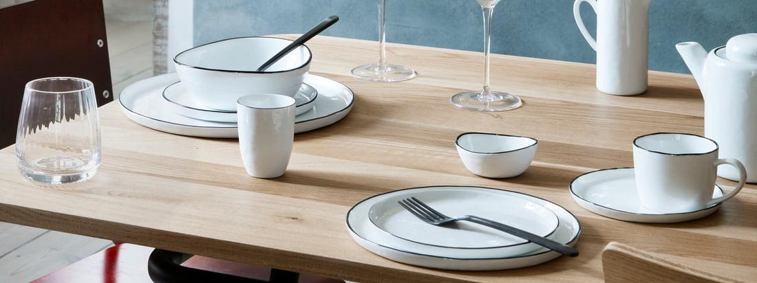 Broste Copenhagen - Salt Geschirr-Serie