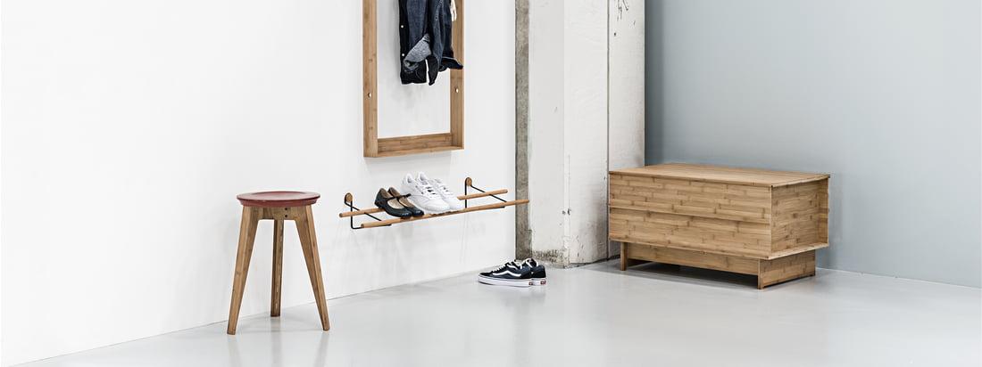 Nützliche Möbel im Eingangsbereich