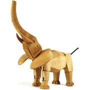 Areaware - Wooden Creatures - Hattie der Elefant