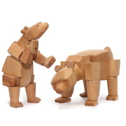 Areaware - Wooden Creatures - Ursa der Bär