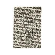 nanimarquina - Black on white Teppich