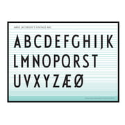 Design Letters - ABC Poster