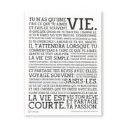 Holstee - The Original Manifesto Poster (White)