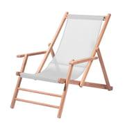 Jan Kurtz - Deckchair Teakholz, Kunststoffgewebe