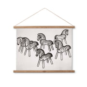 Kay Bojesen - Zebra Kreide-Zeichnung