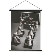 Kay Bojesen - Affe Foto Klassenzimmer inkl. Rahmen