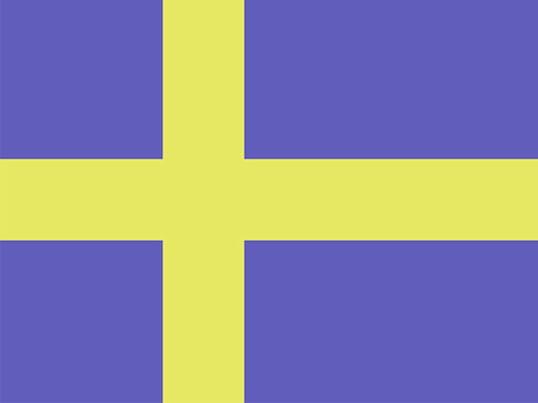 Flagge: Schwedisches Design