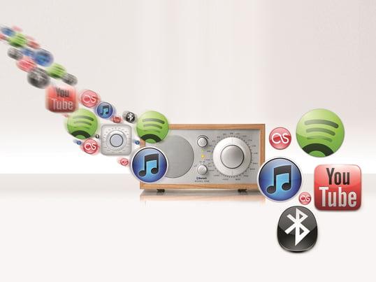 Das Model One Radio der US-Amerikanischen Firma Tivoli ist mittlerweile ein echter Designklassiker. Es vereint ein edles Design mit unglaublicher Empfangs- und Tonqualität.