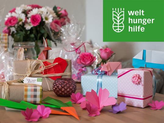 Geschenkspenden der Welthungerhilfe - Teaser