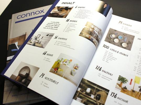 Lassen Sie Gemütlichkeit einziehen! Der Connox Winterkatalog präsentiert Ihnen die aktuellen Neuheiten der Wintersaison 2015/2016 sowie weltbekannte Designklassiker. Ein Magazinteil informiert Sie über News aus der Wohndesign-Welt!