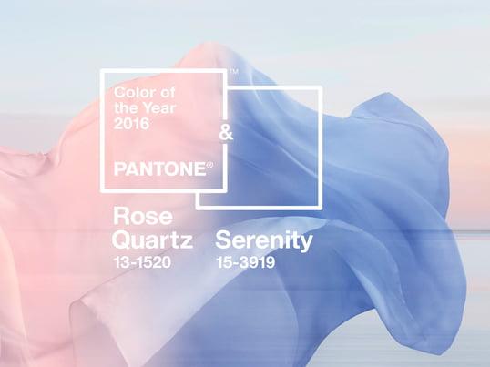 Pantone Farbe 2016 - Quartz Serenity